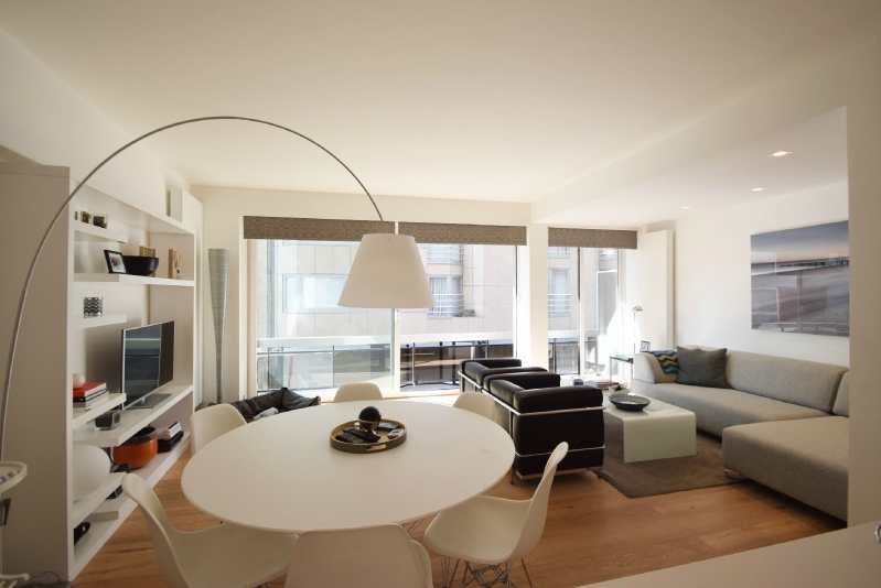 Verkocht appartement in knokke zoute immo knokke real for Hedendaags interieur