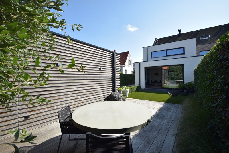 te koop huis Knokke Vastgoed Graaf Jansdijk tuin