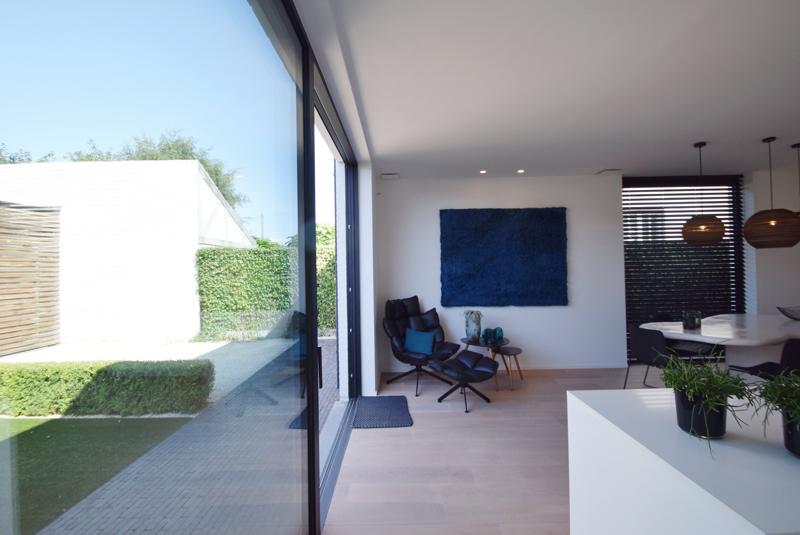 te koop huis Knokke bij Immo Knokke Real Estate interieur decoratie