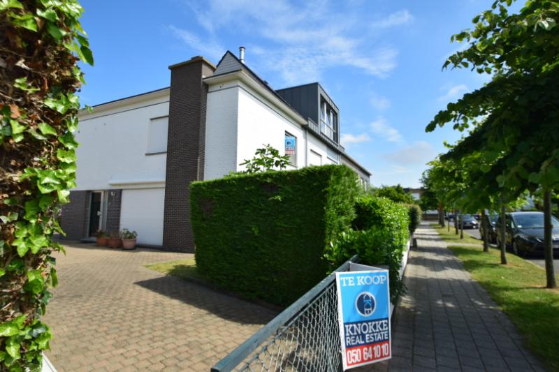 Woning te koop Notelarenlaan bij Immo Knokke Real Estate
