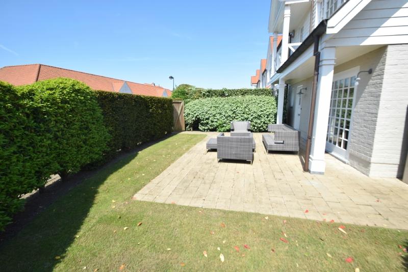 te koop huis Knokke-Heist tuin