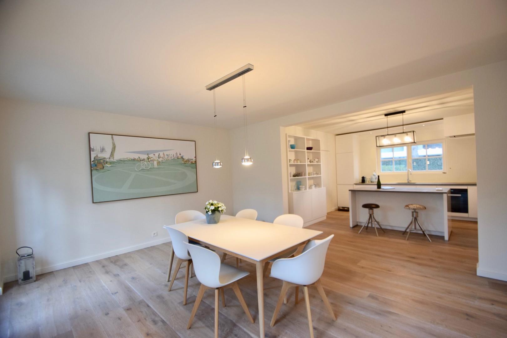 Knokke Real Estate luxueuze koppelvilla te koop
