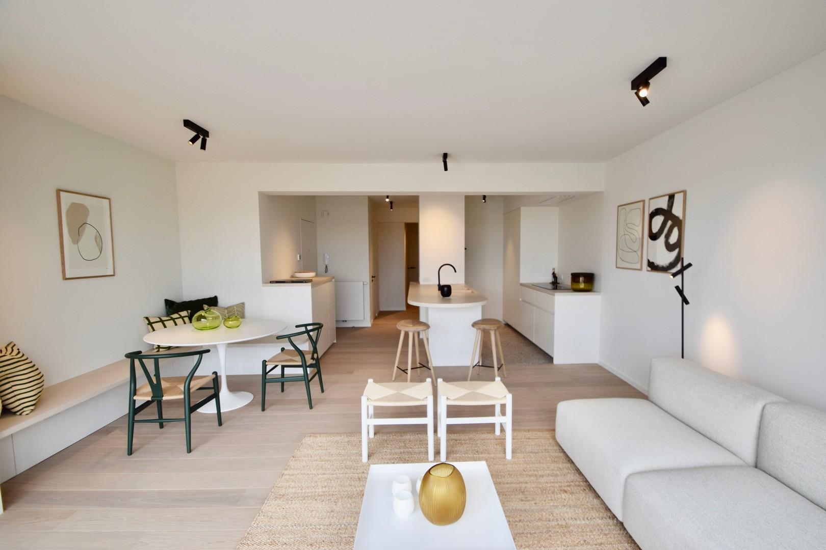 Knokke Real Estate appartement met zicht op Approach golf