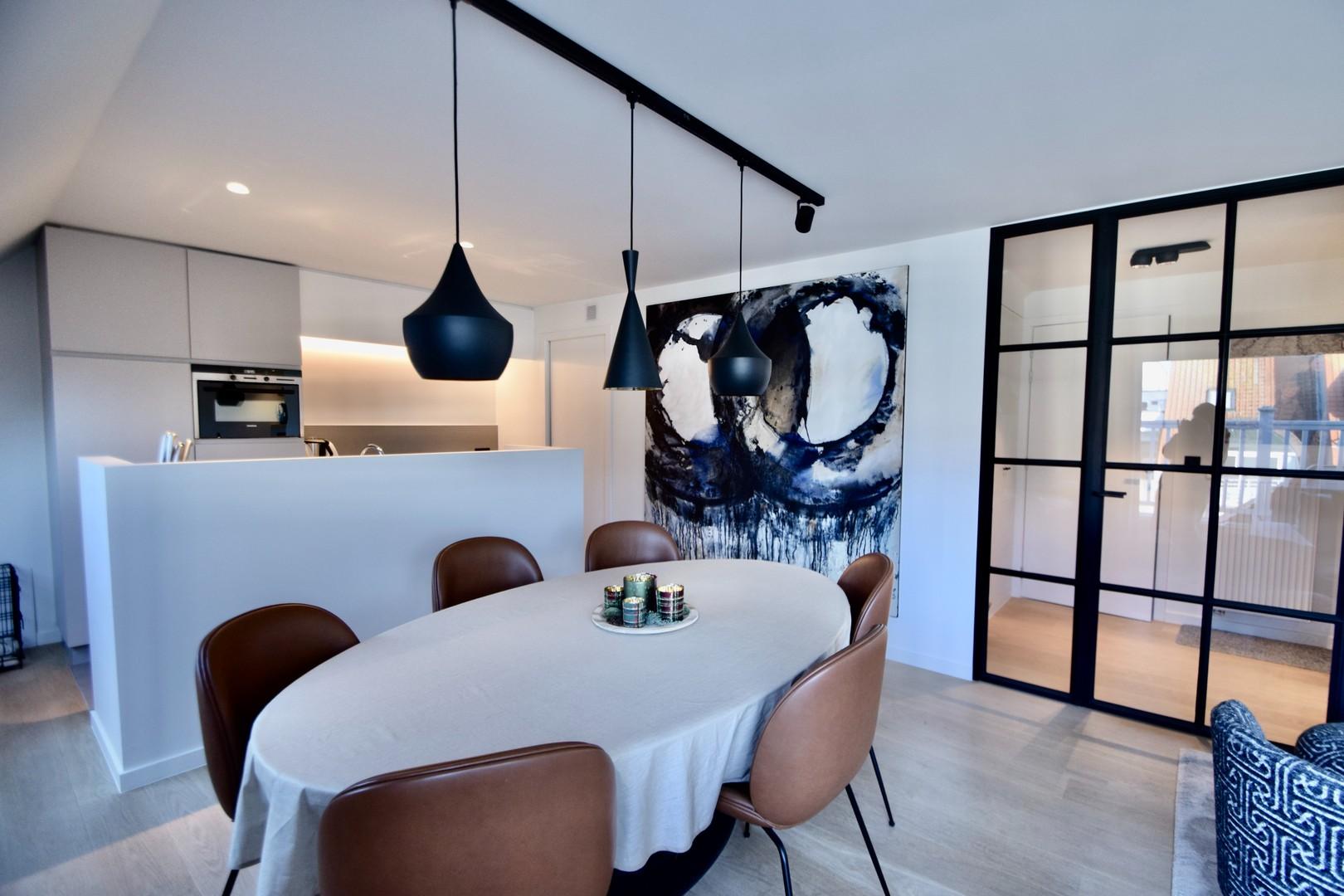 Leefruimte appartement te koop Knokke Real Estate