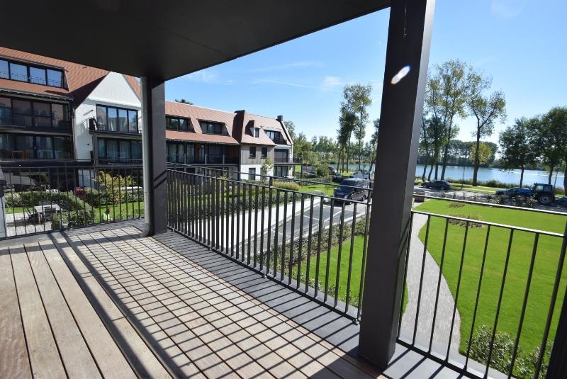 Terras uitzicht Immo Knokke Real Estate