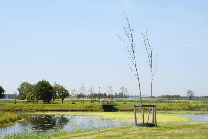 Groene rustige ligging aan nieuwe golf Knokke