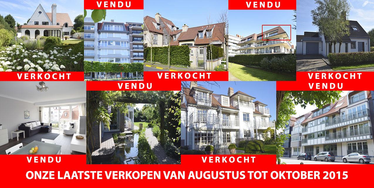 Immo Knokke Real Estate zoekt appartementen - villa - immo te koop en te huur